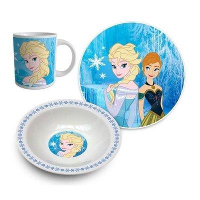 Disney Frozen 3delige ontbijtset